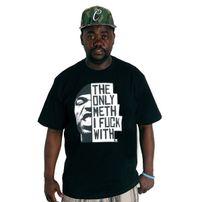 Wu-Wear The Only Meth Tee Black