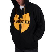 Wu-Wear WU Tang zip Hoodie Black Yellow
