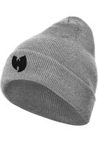Wu-Wear Wu-Wear Logo Beanie heather grey