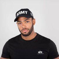 Alpha Industries Army Cap Black