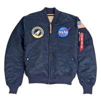 Alpha Industries MA-1 VF NASA Rep. Blue