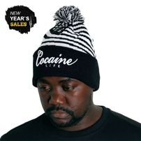 Cocaine Life Starz & Stripe Winter Cap