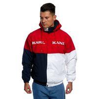 Jacket Karl Kani Retro Block Windbreaker red/black/white