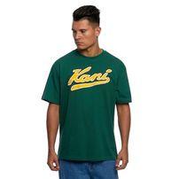 Karl Kani T-shirt College Tee green/yellow