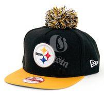 New Era 9Fifty Bobble Game Pittsburgh Steelers Snapback Black Yellow 38b0e9e2b0fd