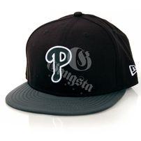 New Era 9Fifty Illumique Philladelphia Phillies Strapback Cap Black