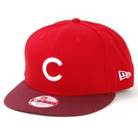 New Era 9Fifty Mono Block Chicago Cubs Scarlet