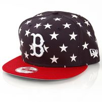 New Era 9Fifty Star Crown Boston Red Sox Navy Red White