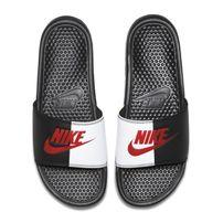 Nike Benassi Just Do It Black Game Red White 343880-006