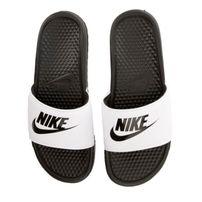 Nike Benassi Just Do It White Black 343880-100