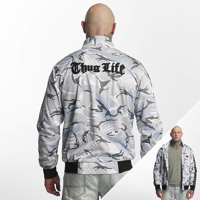 Thug Life / Winter Jacket Wired in white - Gangstagroup.com - Online ...