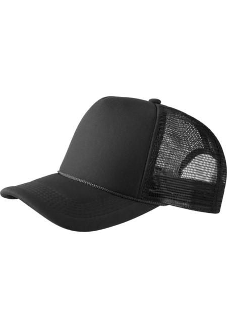 Baseball Cap Trucker high profile black - UNI