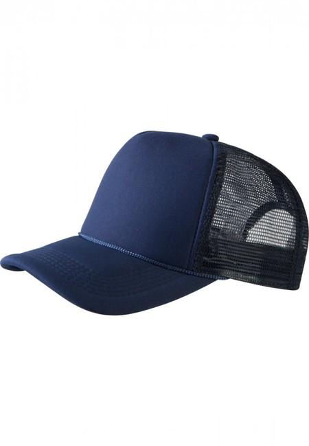 Baseball Cap Trucker high profile navy - UNI