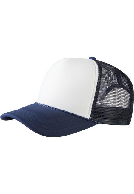 Baseball Cap Trucker high profile nvy/wht - UNI