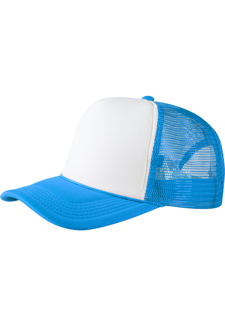 Baseball Cap Trucker high profile tur/wht - UNI
