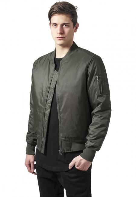 Basic Bomber Jacket olive - XXL