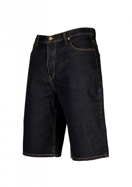 Basic Jeans Shorts dkblue - 26