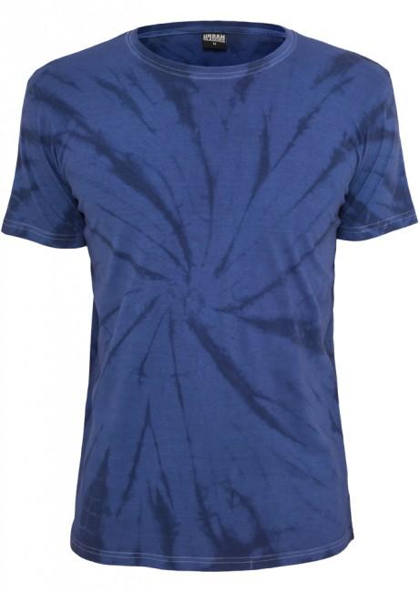 Batik Tee blu/indigo - L