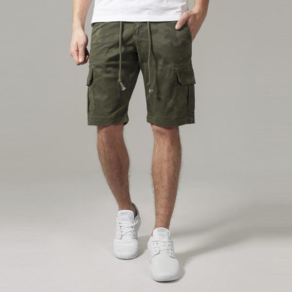 Camo Cargo Shorts olive camo - 38