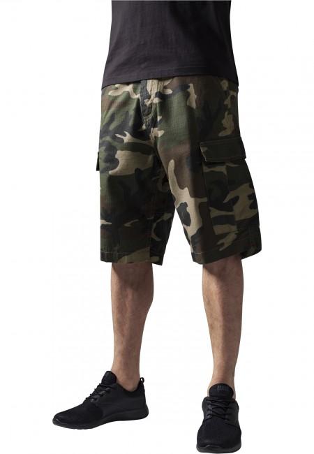 Camouflage Cargo Shorts wood camo - 38