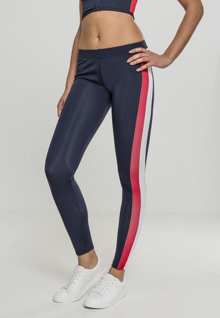 Womens Ladies Side Stripe Leggings Urban Classic a4Y6jO
