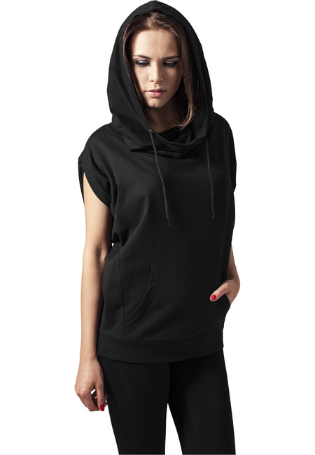 Urban Classics Ladies Sleeveless Terry Hoody Sweatshirt XS S M L XL
