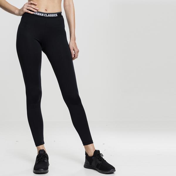Urban Classics Ladies Sports Leggings black black - Gangstagroup.com ... fc27ca08d1
