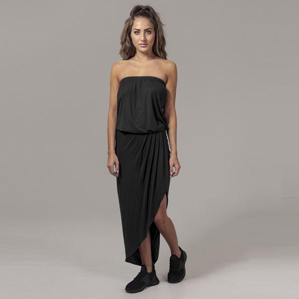 Womens Ladies Viscose Bandeau Dress Urban Classic bCySmTwuK