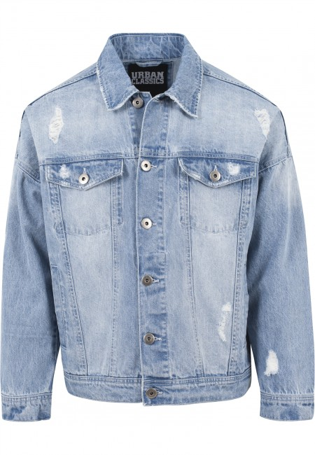 Urban classic ripped jeans jacke