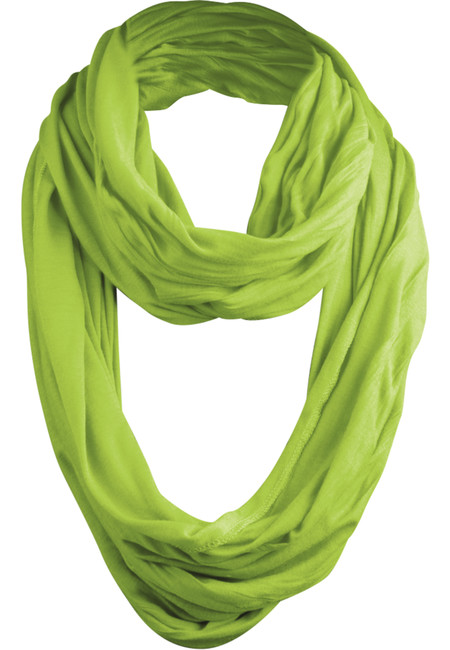 Wrinkle Loop Scarf limegreen - UNI